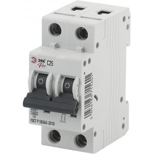 ЭРА Pro Автоматический выключатель NO-902-185 ВА47-63 2P 40А кривая C (6/90/1890)