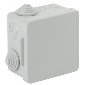 ЭРА Коробка распаячн. открытой установки КОР 80х80х50мм с гермовводами 7 вх. IP54 (100/1600)