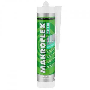 2005216 MAKROFLEX Герметик Нейтральный Силиконовый NX108 белый (290 мл) (12/1200)