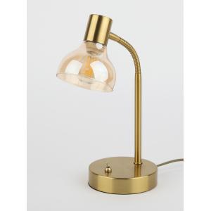 7006-501 Rivoli Настольная лампа Аlba T1 AG 1xE14 40W (8/144)