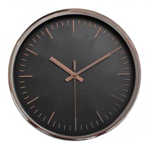 Innova Часы W09643, материал пластик, диаметр 30 см, цвет розовый/черный (8/144)