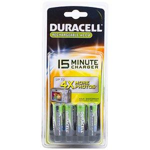 Duracell CEF15 15 min 4x2400mAh (6/420)