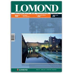 0102031 Lomond Бумага IJ А4 (мат) 160г/м2 (25 л) (42/1386)