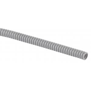 ЭРА Труба гофрированная ПВХ (серый) d 16мм с зонд. легкая 100м (24)