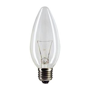 020199 PILA B35 60W 230V  E27 свеча CL (10/100/7200)