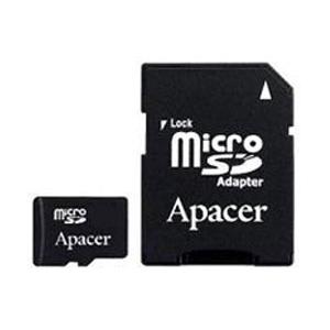 Apacer Micro SD 08 Gb Class 4 + adapt (500)