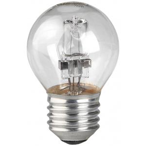 HAL-P45-28W-230V-E27-CL ЭРА (галоген, шар, 28Вт, нейтр, E27) (10/100/3600)
