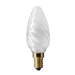 013620 Philips BW35 60W E14 230V витая свеча FR (5/20/4480)