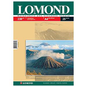 0102025 Lomond Бумага IJ А3 (глянц) 230г/м2 (50 л) (9/225)