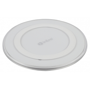WPB250 USB зарядки_25 Intro Wireless charger, white (100/1600)