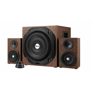 20244 Колонки Trust VIGOR 2.1 SUBWOOFER SPEAKER SET - BROWN (2/16)