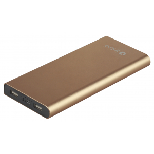 PB10 USB зарядки_25 Intro Power Bank 10 000 mAh, Gold (40/1000)