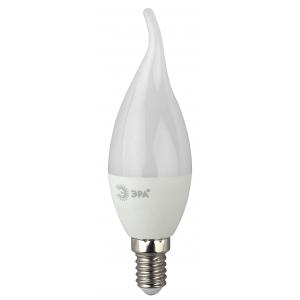 LED BXS-5W-840-E14 ЭРА (диод, свеча на ветру, 5Вт, нейтр, E14) (10/100/2800)