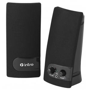SP340 Колонки_25 Intro black USB (30/180)