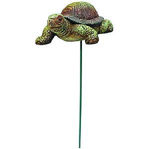 GA200-10 GREEN APPLE Штекер полистоун, Черепаха, 6.6*5.5*25см (8/80/1920)