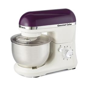 Ariete Кухонная машина 1594 GOURMET RAINBOW. Цвет фиолетоовый. Мощность 650 Вт, объем - 4 л (1/24)