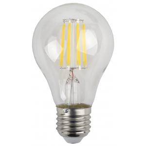 F-LED A60-9W-840-E27 ЭРА (филамент, груша, 9Вт, нейтр., Е27) (25/50/1200)