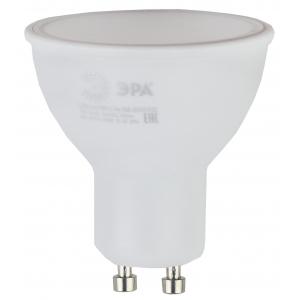 ECO LED MR16-5W-827-GU10 ЭРА (диод, софит, 5Вт, тепл, GU10) (10/100/4000)