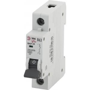 ЭРА Pro Автоматический выключатель NO-900-82 ВА47-29 1P 63А кривая B (12/180/3240)