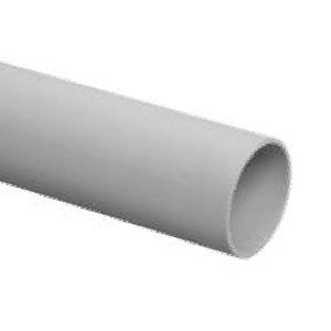 Гладкая ПВХ ЭРА жесткая (серый) ПВХ d 20мм (3м) (52/1248)