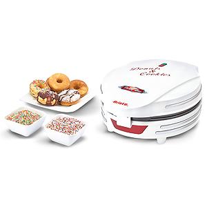 Ariete Прибор для приготовления пончиков 189 PARTY TIME.  Ретро дизайн, цвет - красный (4/80)