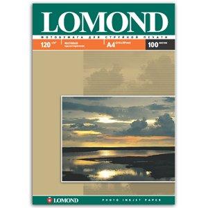 0102003 Lomond Бумага IJ А4 (мат) 120г/м2 (100 л) (15/495)