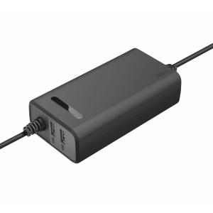 20877 Trust DUO 70W LAPTOP CHARGER WITH 2 USB PORTS (10/250)