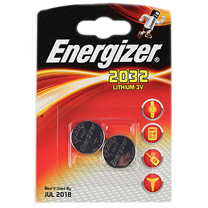 Energizer CR2032-2BL (20/280/30240)
