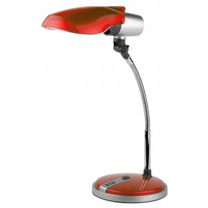 ЭРА наст.светильник NE-301-E27-15W-R красный (12/72)