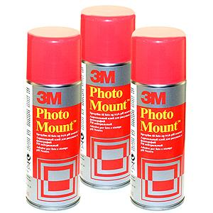 3М Клей-спрей PhotoMount® для фото/плакатов (12/600)