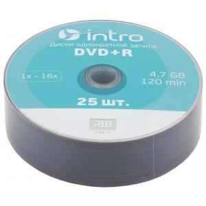 Intro DVD+R INTRO 16х 4,7GB  Shrink 25 (25/500/22500)