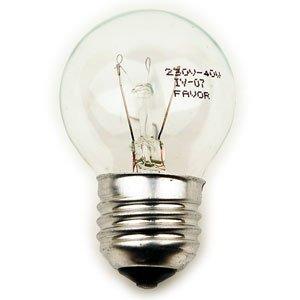 Favor ДШ (P45) 40W E27 230V шарик, прозр. (100/3200)
