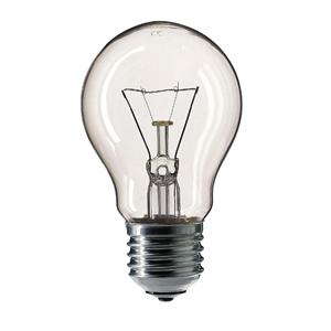 354563 Philips A55 60W E27 230V лон CL (10/120/2880)