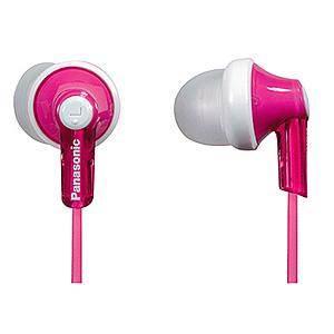 Panasonic RP-HJE 118 GUP вкладыши канальные, розовые (10/800)