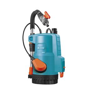 01802-20.000.00 GARDENA Насос дренажный для грязной воды 20000 inox Premium (16)