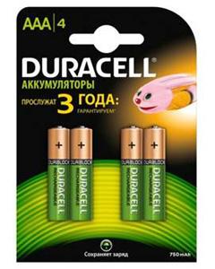 Duracell HR03-4BL 750mAh (4/40/30000)