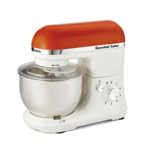 Ariete Кухонная машина 1594 GOURMET RAINBOW. Цвет оранжевый. Мощность 650 Вт, объем - 4 л (24)
