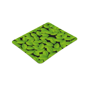 21052 Коврик для мыши Trust ECO-FRIENDLY MOUSE PAD зеленые листья (100/3000)