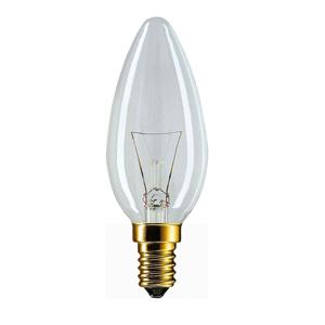 011671 Philips B35 60W E14 230V свеча CL (10/100/7200)