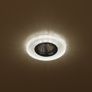 DK LD1 BR Светильник ЭРА декор cо светодиодной подсветкой,  коричневый (50/1400)