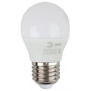 ECO LED P45-6W-827-E27 ЭРА (диод, шар, 6Вт, тепл, E27) (10/100/3000)