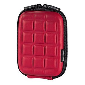 103771 Hama Чехол   Hardcase Square 40G красный 6x2,5x9,5 (10/100/1800)