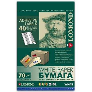 2100195 Lomond наклейка A4/50/40 (27/891)