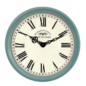 Innova Часы W09646, материал металл, диаметр 38 см, цвет тиффани (6/108)