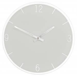Innova Часы W09655, муранское стекло, диаметр 35 см, цвет серый (6/108)