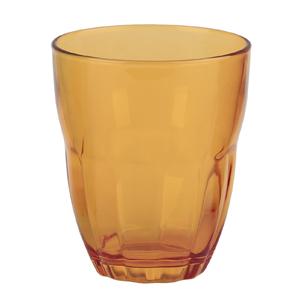 Bormioli Rocco Набор из 3-х стаканов Ercole 230 мл, оранжевые, открытая цветная упаковка (6/390)