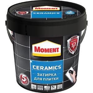1972109 Момент ЗАТИРКА Moment Ceramics 1 кг,(темно-коричневый) (12/384)
