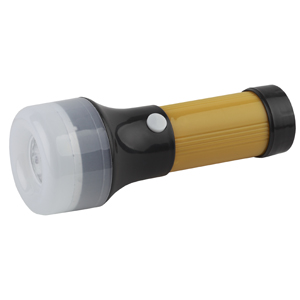TB10S Фонарь Трофи 2 в1 10SMD + 1LED, пластик, 3xAA, полиб (25/200/1600)