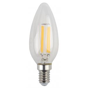 F-LED B35-5W-827-E14 ЭРА (филамент, свеча, 5Вт, тепл, E14) (25/50/3300)