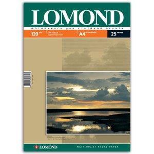 0102030 Lomond Бумага IJ А4 (мат) 120 г/м2 (25 л) (51/1683)